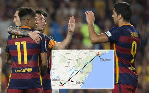 Barca: Hãy đưa Messi–Suarez-Neymar lên bục QBV - 1