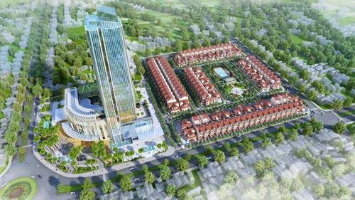 Chính thức khởi công khu phức hợp đẳng cấp Vincom Hà Tĩnh - 1