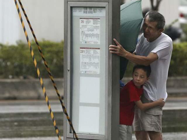 """Đài Loan """"oằn mình"""" trong siêu bão mạnh nhất 2015 - 1"""