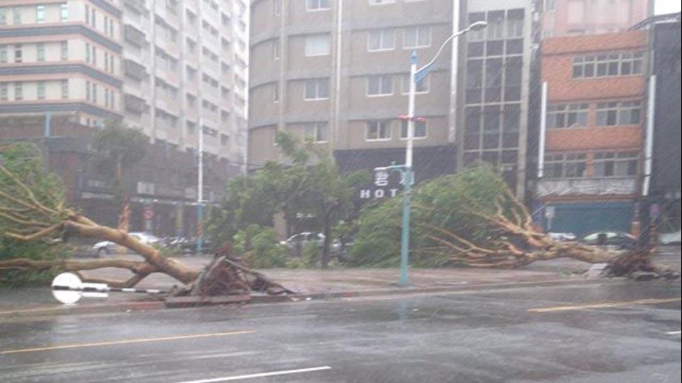 Toàn cảnh siêu bão mạnh nhất 2015 tàn phá Đài Loan - 4