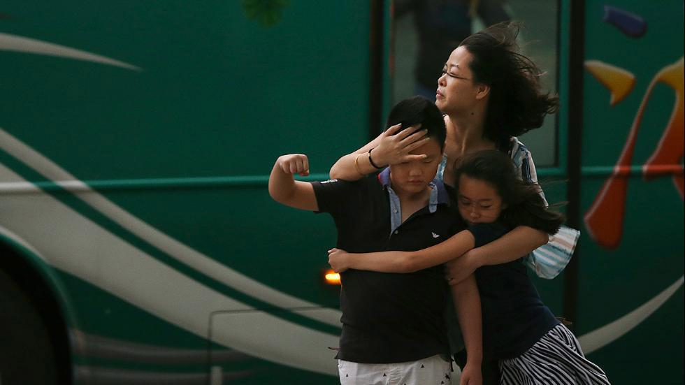 Toàn cảnh siêu bão mạnh nhất 2015 tàn phá Đài Loan - 12