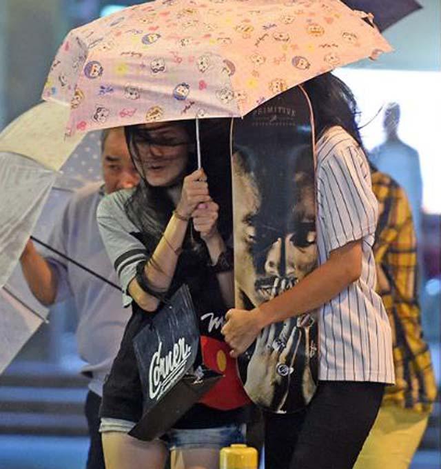 Toàn cảnh siêu bão mạnh nhất 2015 tàn phá Đài Loan - 13