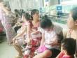 Trẻ mắc bệnh hô hấp chật cứng bệnh viện