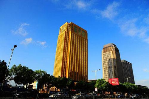 Choáng với tòa nhà vàng làm lóa mắt cả thành phố - 2