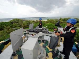 Đài Loan ngang nhiên xây hải đăng trên đảo Ba Bình