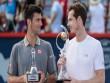 Tin HOT tối 17/8: Thua Murray, Djokovic đổ lỗi cho cùi chỏ