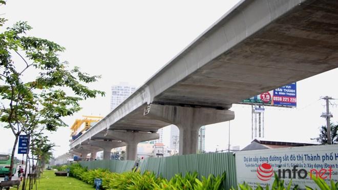 Cận cảnh lắp các đốt dầm 500 tấn cho tuyến metro Bến Thành - Suối Tiên - 13