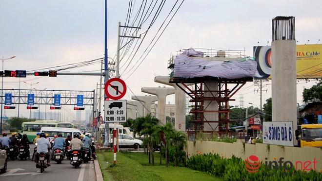 Cận cảnh lắp các đốt dầm 500 tấn cho tuyến metro Bến Thành - Suối Tiên - 15
