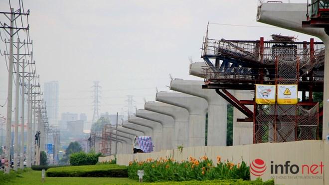Cận cảnh lắp các đốt dầm 500 tấn cho tuyến metro Bến Thành - Suối Tiên - 16