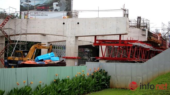 Cận cảnh lắp các đốt dầm 500 tấn cho tuyến metro Bến Thành - Suối Tiên - 17