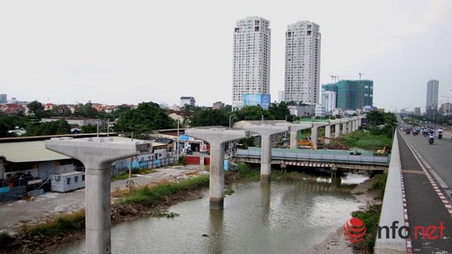 Cận cảnh lắp các đốt dầm 500 tấn cho tuyến metro Bến Thành - Suối Tiên - 18