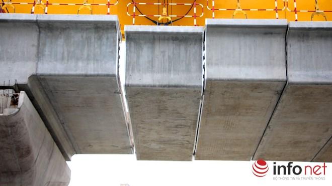 Cận cảnh lắp các đốt dầm 500 tấn cho tuyến metro Bến Thành - Suối Tiên - 3