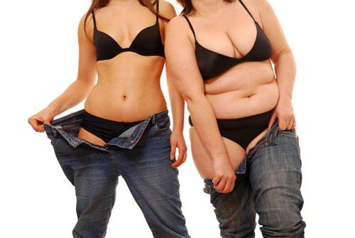 Thừa cân hay gợi cảm phụ thuộc rất nhiều vào chế độ ăn uống