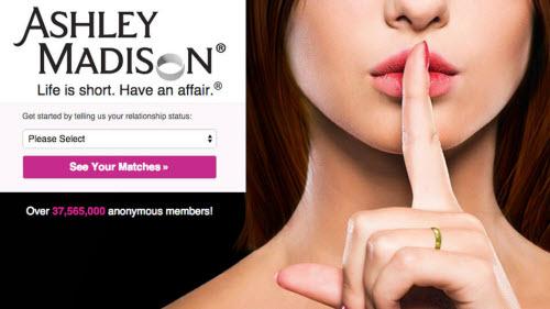 Hơn 37 triệu thông tin người dùng trên website AshleyMadison.com đã bị công khai.