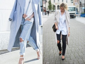 Tại sao cô nàng nào cũng mê quần jeans rách gối?