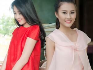 Chọn váy đi làm thanh lịch cùng Top 5 HHVN Thanh Tú
