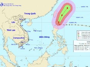 Siêu bão Goni giật cấp 16-17 ra khỏi biển Đông
