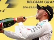 BXH Belgian GP: Hamilton thị uy sức mạnh