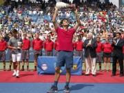BXH tennis 24/8: Federer trở lại số 2 thế giới