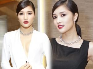 Triệu Thị Hà gây chú ý với bộ trang sức trăm triệu