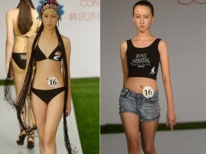 Trung Quốc xôn xao vì người mẫu 12 tuổi cao 1m77