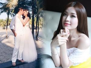 Á hậu Diễm Trang bật mí về hôn lễ vào tháng 12 tới