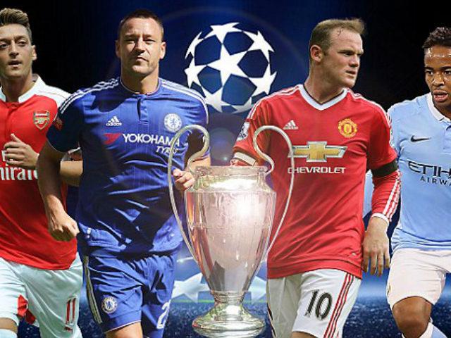 Tứ hùng Premier League & cúp C1: Mong manh Man City