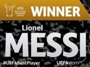 Cầu thủ hay nhất châu Âu: Tôn vinh Messi