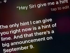 Trợ lý ảo Siri biết gì về iPhone sắp ra mắt?