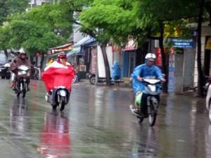 Hôm nay, mưa giông trên diện rộng bao phủ bắc Trung Bộ