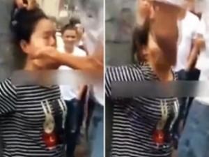 TQ: Cô gái mang bầu bị đánh tới ngất xỉu vì tội trộm tiền