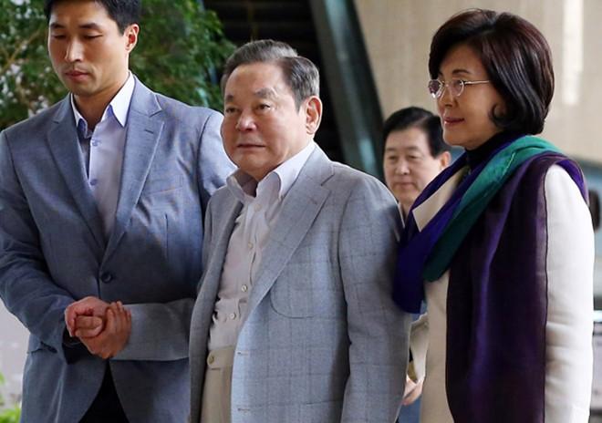 Nữ đại gia phía sau ông chủ tập đoàn Samsung - 1