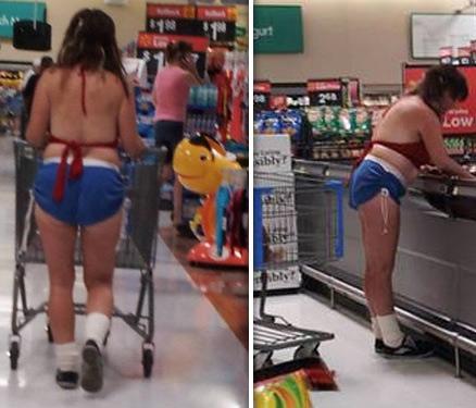 """""""Cười vỡ bụng"""" với những thảm họa thời trang siêu thị - 11"""
