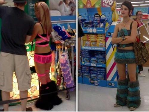 Bốt lông kỳ cục đang là mốt của các cô gái trẻ