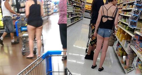 Những cô gái thích khoe da thịt nơi công cộng