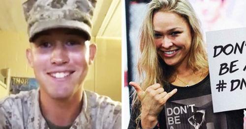 Tin HOT 2/9: Ronda Rousey hẹn hò với quân nhân - 1