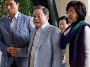 Nữ đại gia phía sau ông chủ tập đoàn Samsung