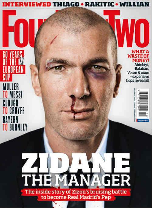 """Sao 360 độ 4/9: Zidane bị """"bầm dập"""" trên mặt báo - 1"""
