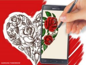 Thỏa mãn đam mê vẽ tranh với S-Pen của Galaxy Note 5