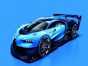 Bugatti tung ảnh chính thức mẫu xe concept Vision Gran Turismo