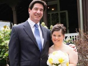 Xúc động thư gửi con gái bị down trong ngày cưới