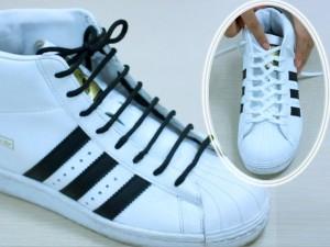 4 kiểu buộc dây giày thể thao cực sành điệu và lạ mắt
