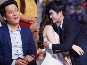 Nhã Phương ôm Kang Tae Oh sau lưng Trường Giang