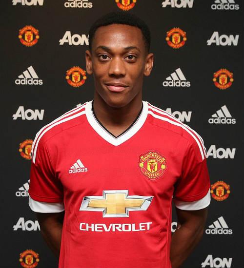 MU bỏ ra đến 36 triệu bảng để mua về một tiền đạo vô danh mới 19 tuổi là Anthony Martial