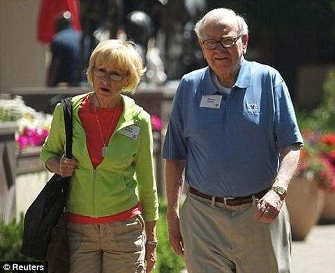 Chuyện 2 người vợ của tỷ phú Warren Buffett - 3