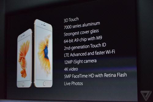 TRỰC TIẾP sự kiện Apple ra mắt iPhone 6S và 6S Plus (P3) - 2
