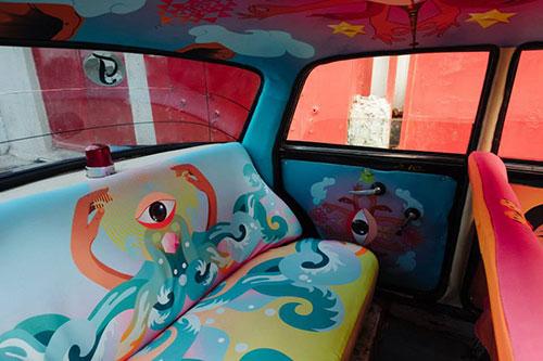"""Ấn tượng với """"taxi nghệ thuật"""" tuyệt đẹp tại Ấn Độ - 6"""