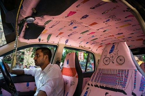 """Ấn tượng với """"taxi nghệ thuật"""" tuyệt đẹp tại Ấn Độ - 7"""