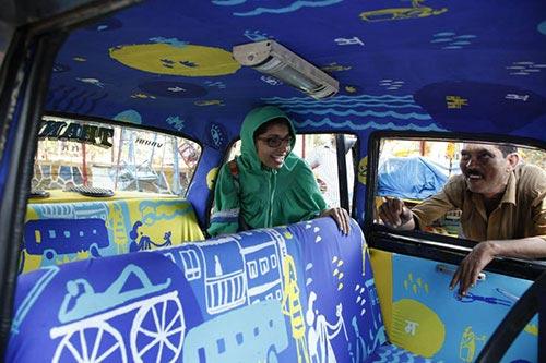 """Ấn tượng với """"taxi nghệ thuật"""" tuyệt đẹp tại Ấn Độ - 9"""