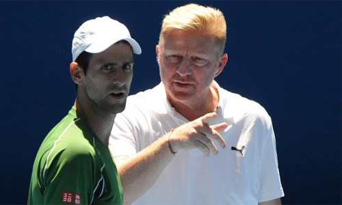 HLV Djokovic mỉa mai tuyệt kỹ mới của Federer - 1